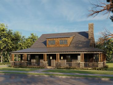 Country House Plan, 074H-0140