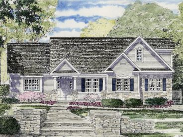 Ranch House Plan, 014H-0076
