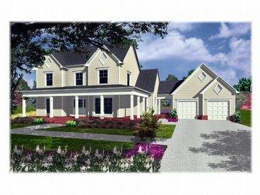 Country Home Plan, 019H-0076