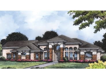 Contemporary Home Plan, 043H-0176
