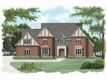 2-Story Home Plan, 029H-0068