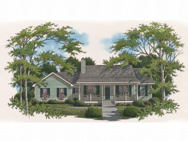 Affordable House Plan, 030H-0013
