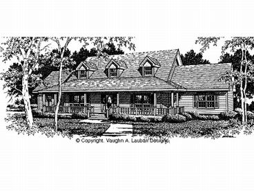 Country House Plan, 004H-0090