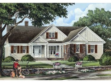 Ranch House Plan, 063H-0073