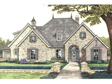 European Home Plan, 002H-0081