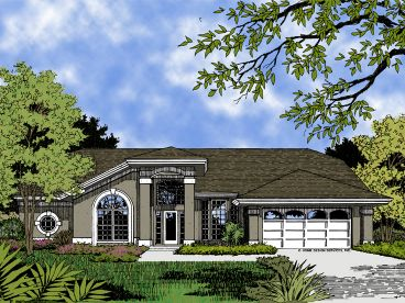 1-Story Home Plan, 043H-0121