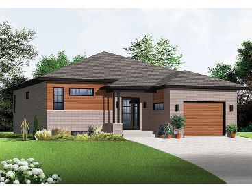 Contemporary Home, 027H-0295