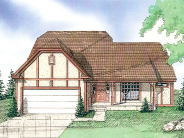 Two-Story Home Design, 009H-0019