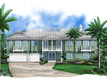 Coastal Home Plan, 070H-0004