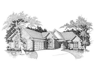 Traditional Home Design, 061H-0063
