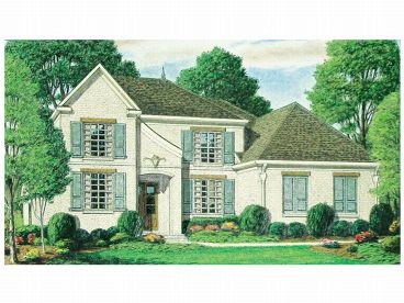 Two-Story Home Plan, 011H-0039