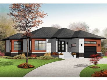 Contemporary Home, 027H-0384