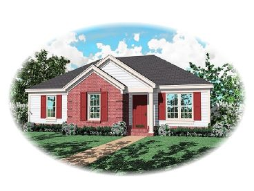 Traditional Home Design, 006H-0018