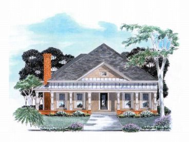 1-Story House Plan, 019H-0036