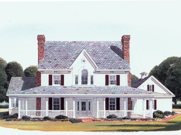 Country House Plan, 054H-0091