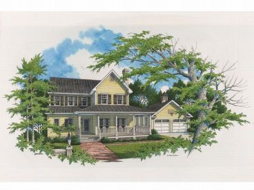 Farmhouse Plan, 030H-0022