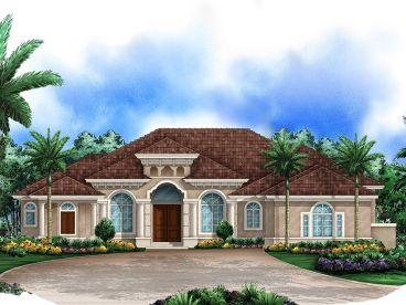 Premier Luxury House Plan, 037H-0151