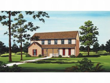 Multi-Family House Plan, 021M-0012