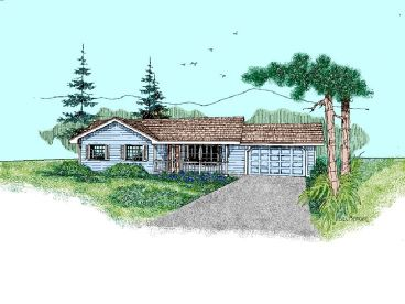 Traditional House Design, 013H-0062