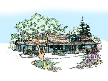 Ranch House Design, 013H-0035