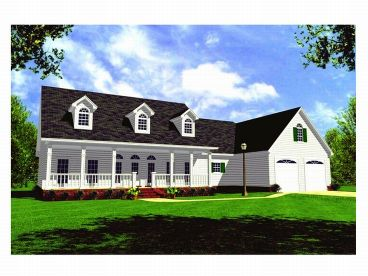 Affordable Home Plan, 001H-0056
