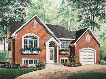 Small Home Plan, 027H-0183