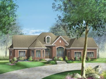 One-Story House Plan, 072H-0045