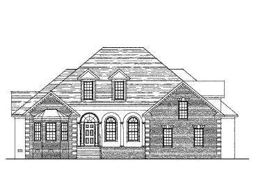 Ranch House Plan, 058H-0030