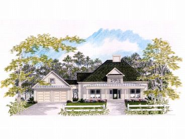 Ranch Home Plan, 019H-0056