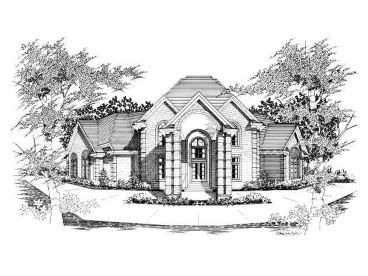 Unique House Plan, 061H-0132