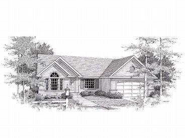 Traditional House Plan, 018H-0005