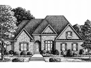 European Home Plan, 011H-0042