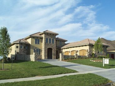 Mediterranean Home Plan, 020H-0174