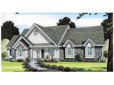 Country House Plan, 047H-0035