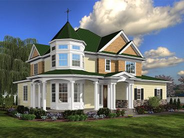 Victorian House Plan, 035H-0078