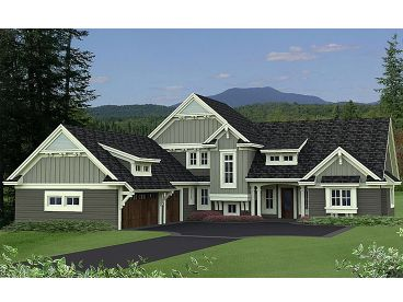 Craftsman Home Plan, 023H-0169