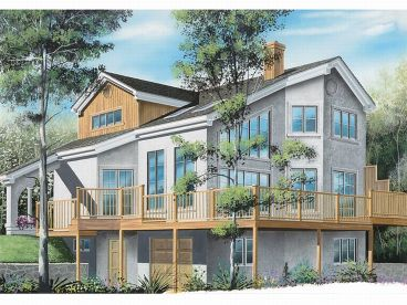 Home Plan, Right/Rear, 027H-0144