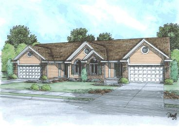 Multi-Family House Plan, 031M-0011