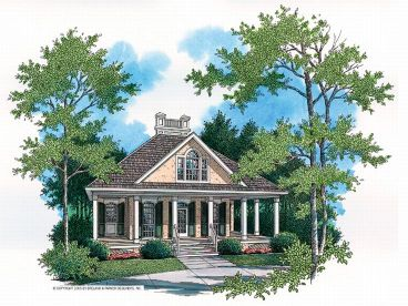 Love Shack Home Plan, 021H-0003