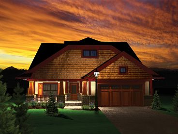 Craftsman Home, 020H-0266