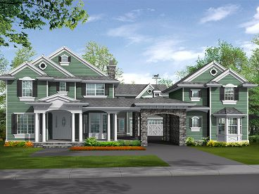 Luxury House Plan, 035H-0091
