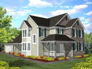 Country House Plan, 016H-0022