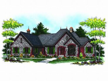 European Home Plan, 020H-0147