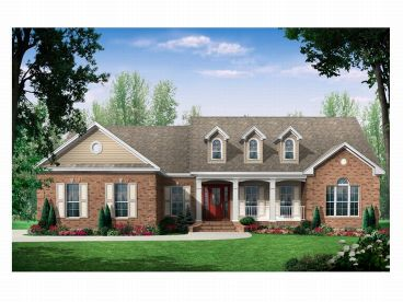 Country House Plan, 001H-0077