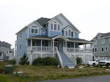 Coastal House Design, 041H-0074