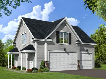 Carriage House Plan, 062G-0066