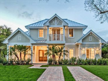 Olde Florida Home Plan, 037H-0208
