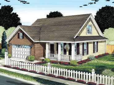 Country Home Plan, 059H-0135