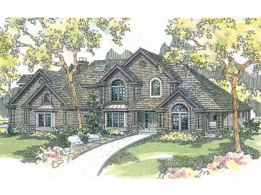 Traditional Home, 051H-0106