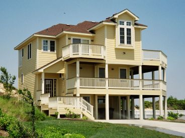 Beach Home Photo, 041H-0009